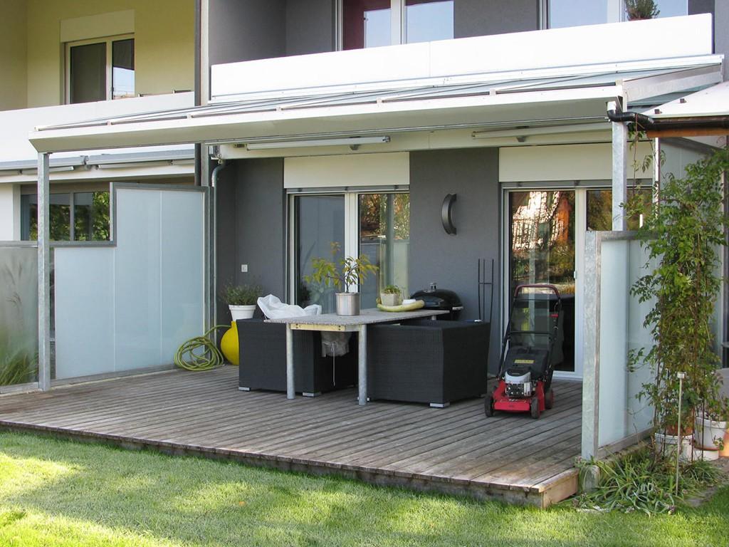 verglasungen und windschutz. Black Bedroom Furniture Sets. Home Design Ideas